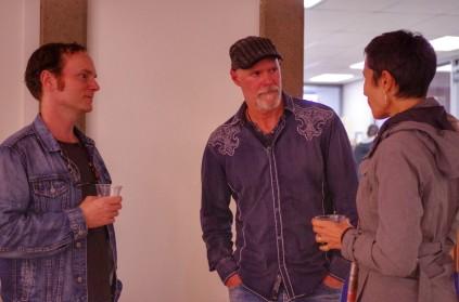 L-R: Brian Haimbach, JS Bird, Bonnie Simoa